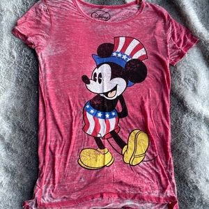 Disney Mickey Mouse American 🇺🇸 Tee Size: SMALL